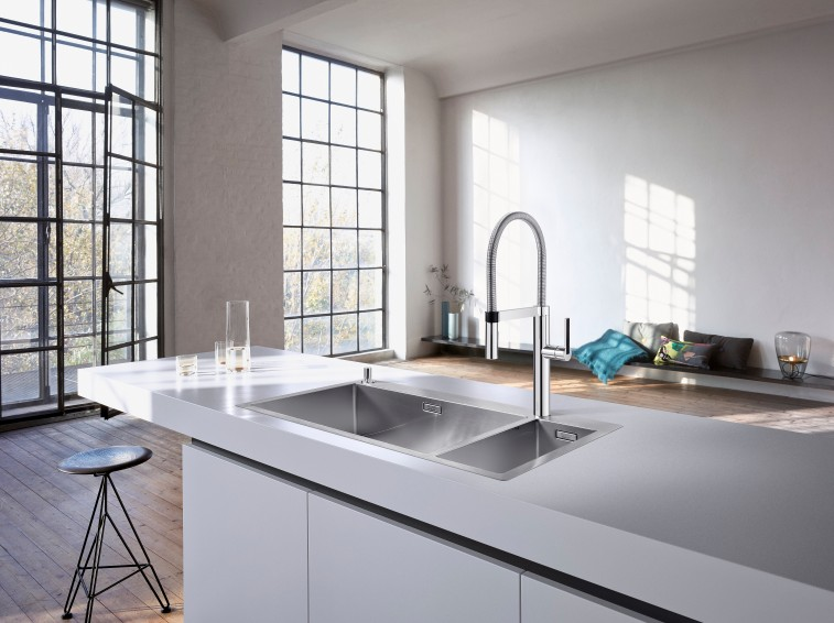 Square Melon Blanco Claron 700IF-A Kitchen Sink