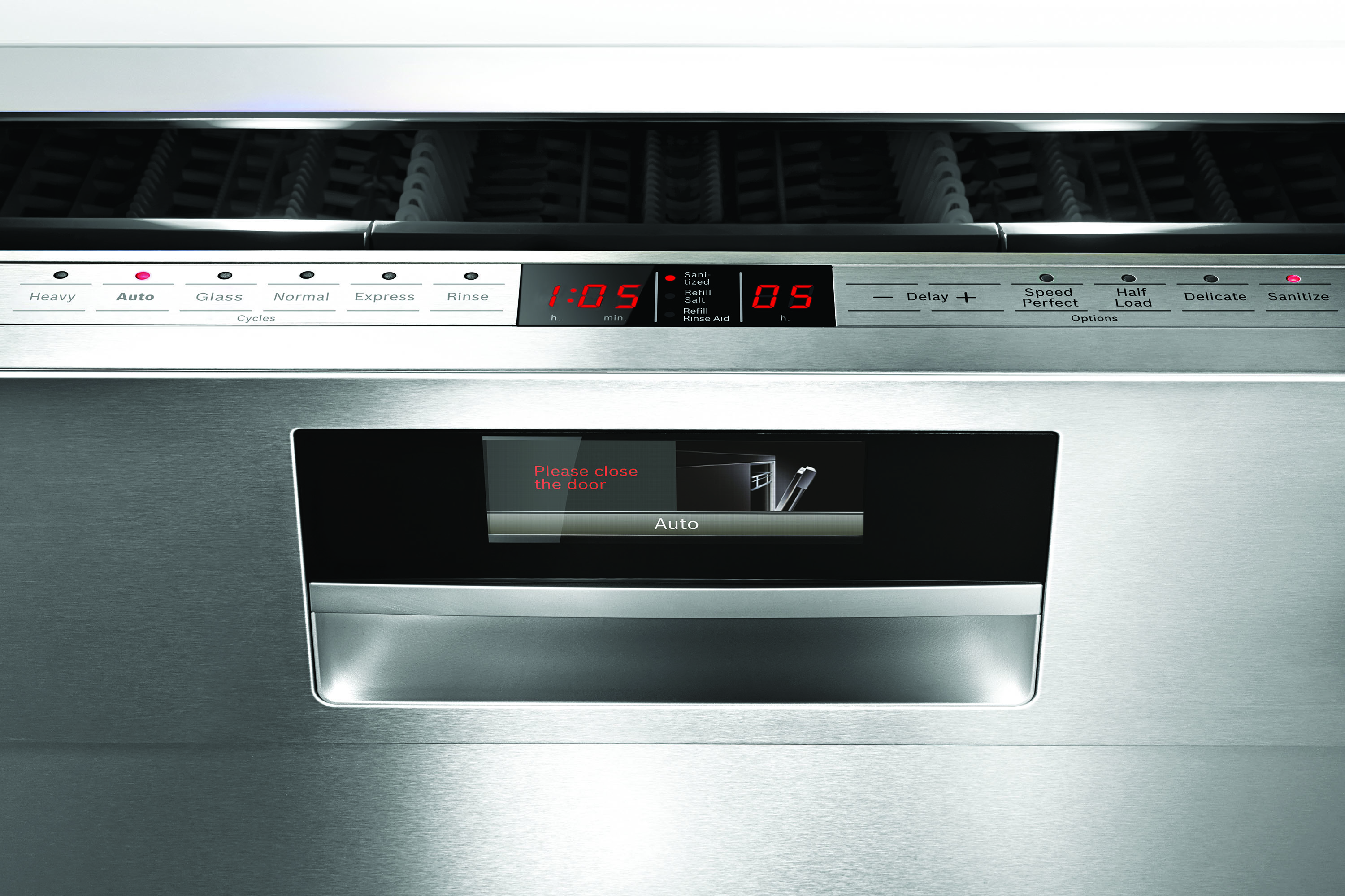 SquareMelon- Bosch Dishwasher TFT Display