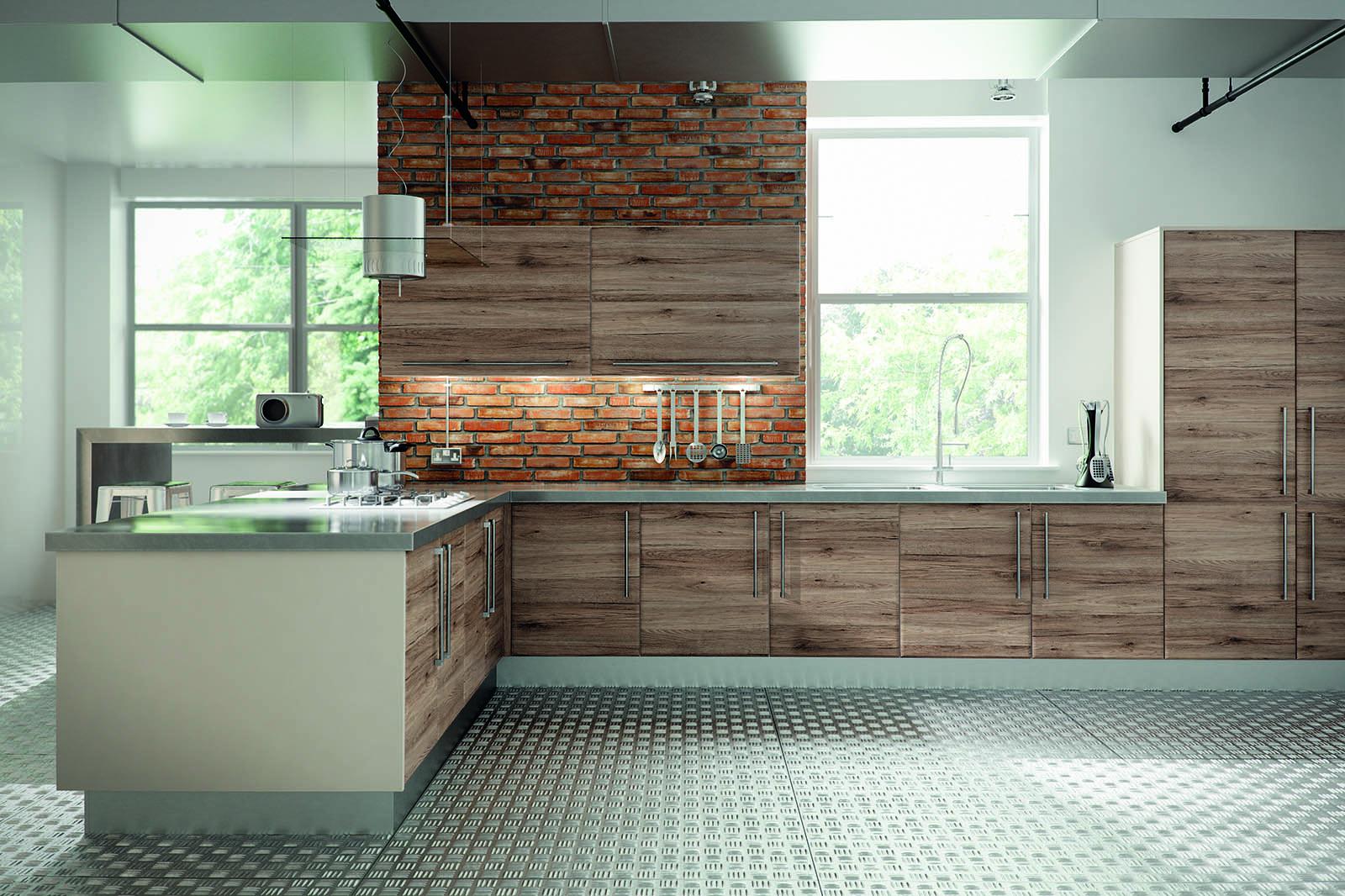 SquareMelon- San Remo Rustic Pisa Modern Kitchen